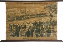 Serie - Wandplaten der Geschiedenis van Belgie. Tableaux d'Histoire de Belgique