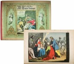 Serie - Bilder zum Anschauungs-Unterricht  f�r die Jugend. (V. Teil). Biblischen Bilder zum Neuen Testament
