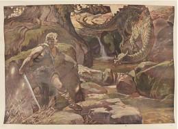Serie - Bilder zur Nibelungensage