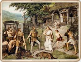 Serie - Ad. Lehmanns Kulturgeschichtliche Bilder f�r den Schulunterricht