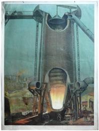 Serie - Technologische Wandtafeln von Max Eschner
