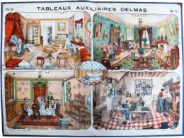 Serie - Tableaux auxiliaires Delmas pour l'enseignement pratique des langues vivantes par l'image