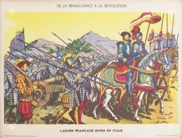 Serie - Tableaux d'histoire pour le cours �l�mentaire - De la renaissance a la r�volution