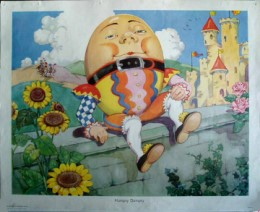 Serie - Gay Way Nursery Rhyme Pictures - Set 1
