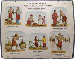 Serie - Gambar-Gambar. Nederlandsch-Indische prenten