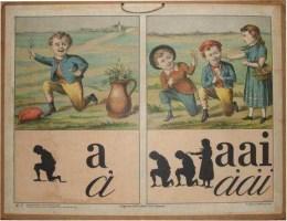 Serie - Sprekende letterbeelden. Grondslag voor het eerste leesonderwijs