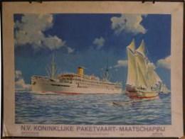 Uitgever - N.V. Koninklijke paketvaart - Maatschappij