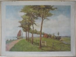 Serie - De Aardrijkskundige Wandplaten van Nederland