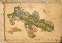 Uitgever - Van Doorne's Automobielfabriek