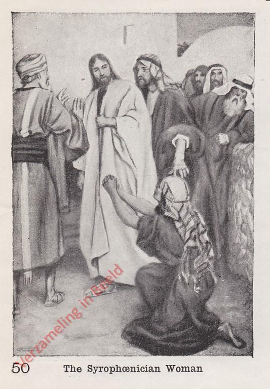 verzameling in beeld 50 de kananese vrouw