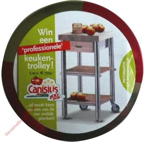 J. Canisius - Rinse Appelstroop, Win een keuken trolley