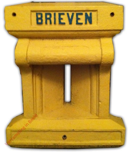 1869. Frontbrievenbus (half)