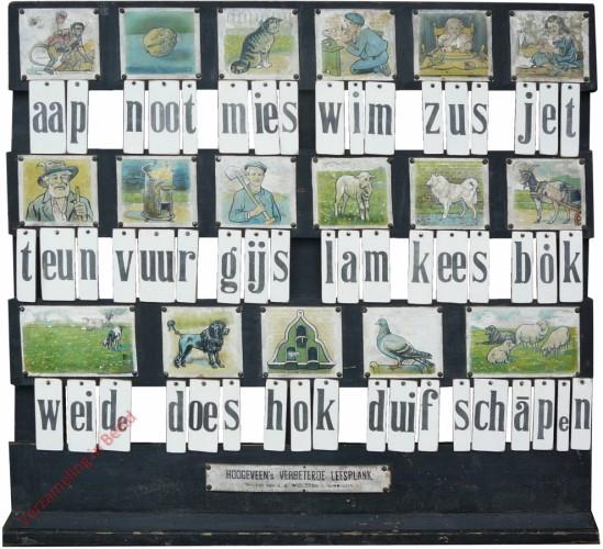 1910-1915. aap noot mies, Hoogeveen's klassikale leesplank [Bok kijkt naar links; Groningen]