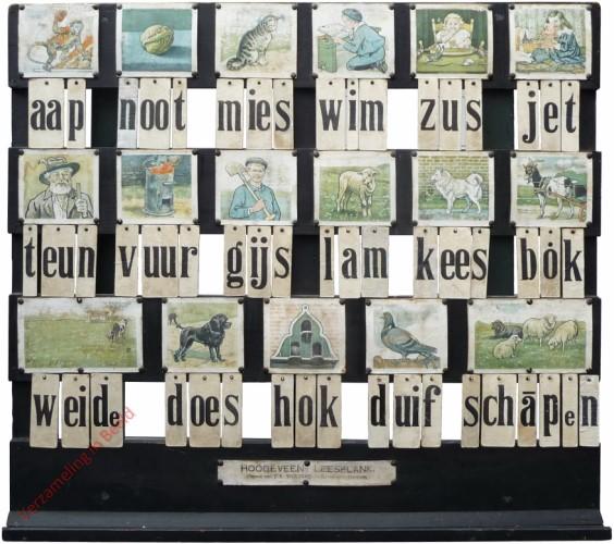 1916-1931. aap noot mies, Hoogeveen's klassikale leesplank [Bok kijkt naar links; Groningen, Den Haag]