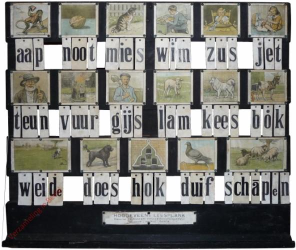 1932-1933. aap noot mies, Hoogeveen's klassikale leesplank [Bok kijkt naar rechts; Zwart; Groningen,Den Haag, Batavia]