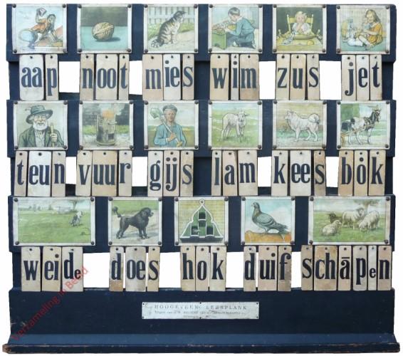 1934-1939. aap noot mies, Hoogeveen's klassikale leesplank [Bok kijkt naar rechts; Zwart; Groningen, Batavia]