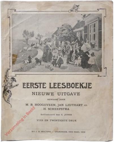 1910-1931. Eerste leesboekje, Nieuwe uitgave