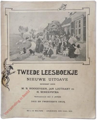 1910-1931. Tweede leesboekje, Nieuwe uitgave