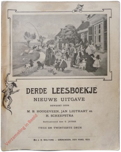 1910-1931. Derde leesboekje, Nieuwe uitgave