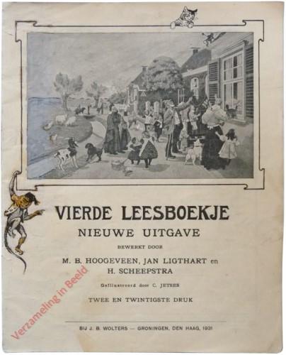 1910-1931. Vierde leesboekje, Nieuwe uitgave
