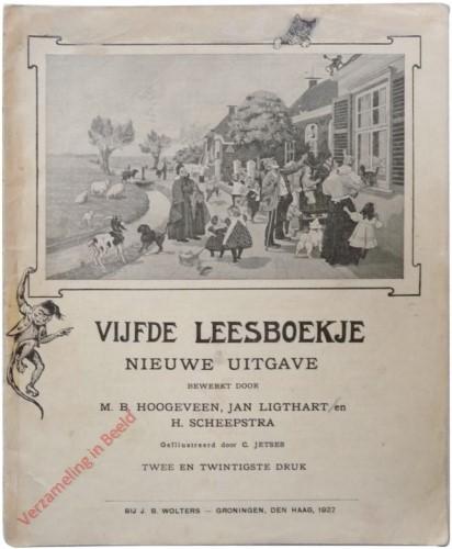 1910-1931. Vijfde leesboekje, Nieuwe uitgave