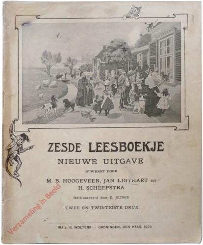 1910-1931. Zesde leesboekje, Nieuwe uitgave