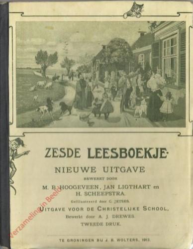 1910-1931. Zesde leesboekje, Nieuwe uitgave. Uitgave voor de Christelijke school