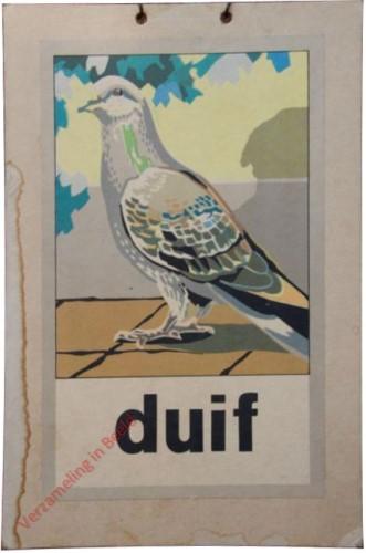 1951 [Een nieuwe wereld]. duif