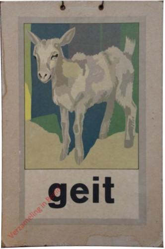 1951 [Een nieuwe wereld]. geit