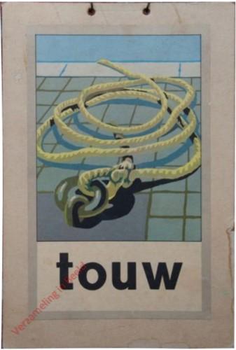 1951 [Een nieuwe wereld]. touw