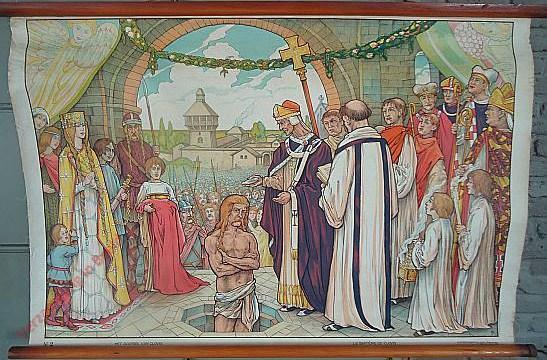 2 - Het doopsel van Clovis