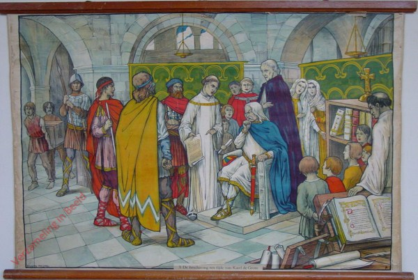 3 - De beschaving ten tijde van Karel den Groote. La civilisation à l'époque de Charlemagne