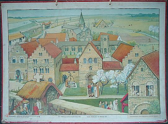 4 - Het middeleeuwsch kloosterleven