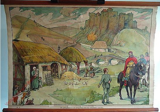 6 - De lijfeigenen in de omgeving van het versterkt kasteel
