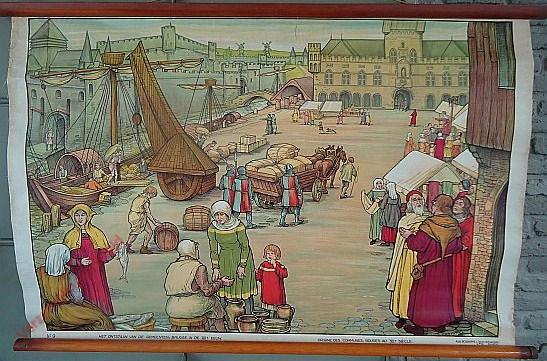 9 - Het ontstaan van de gemeenten. Brugge in de XIIIe eeuw