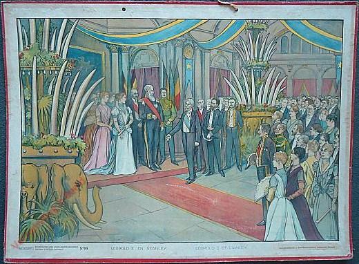 16 - Leopold II en Stanley te Marseille