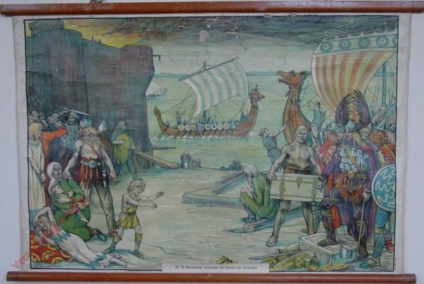 26 - De Noormannen vernietigen het kasteel van Antwerpen