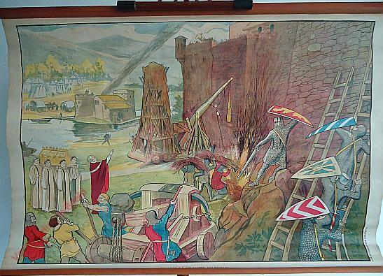 28 - Bestorming van het kasteel van Bouillon