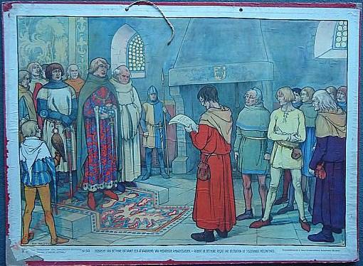 33 - Robrecht van Bethune ontvangt een afvaardiging van misnoegde ambachtslieden