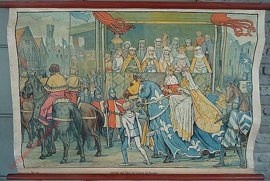 34 - Intrede van Filips den Schoone te Brugge