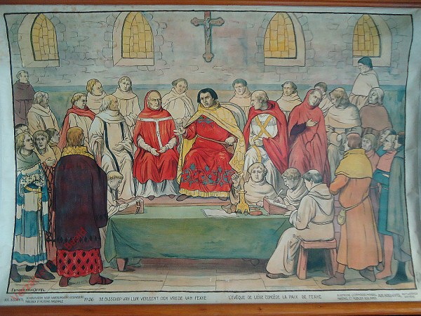 36 - De bisschop van Luik verleent den vrede van Fexhe