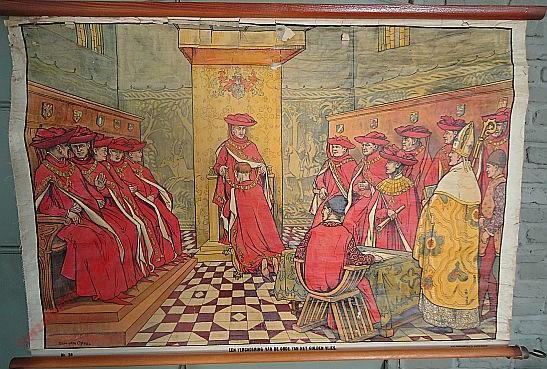 38 - Filips de Goede stelt het Gulden Vlies in