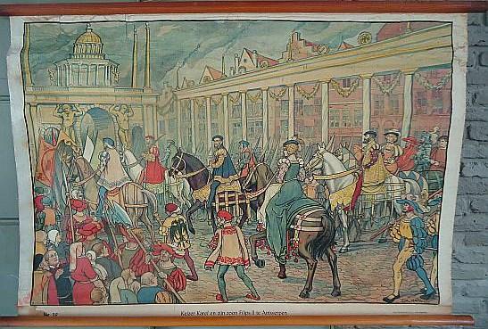 39 - Keizer Karel in de Antwerpsche koopmansstad