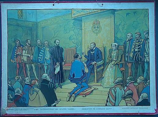 46 - Troonsafstand van Keizer Karel