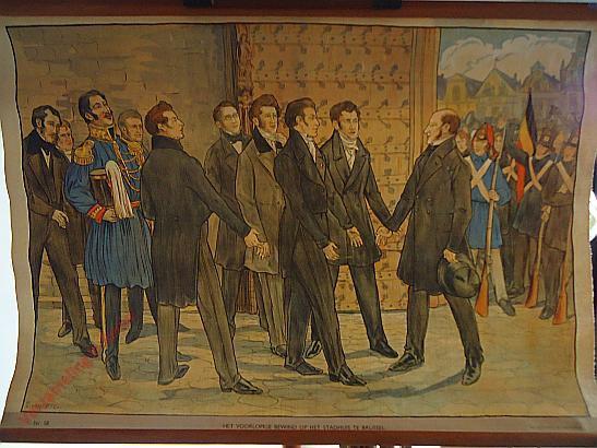58 - Het voorloopig bewind op het stadhuis te Brussel