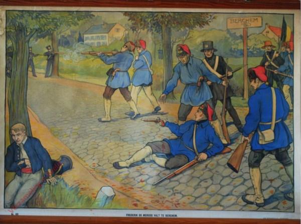 60 - Frederik de Merode valt te Berchem