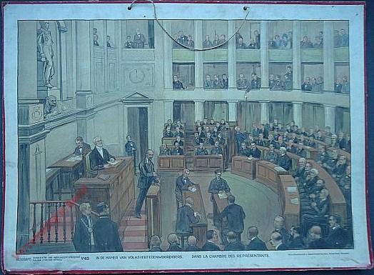 63 - In de Kamers van Volksvertegenwoordigers