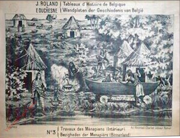 3 - Traveaux des Ménapiens (intérieur) - Bezigheden der Menapiers (Binnenland)