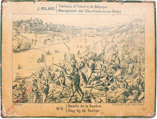 6 - Bataille de la Sambre - Slag bij de Samber