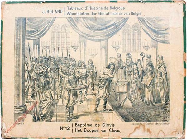 12 - Bapteme de Clovis - Het Doopsel van Clovis